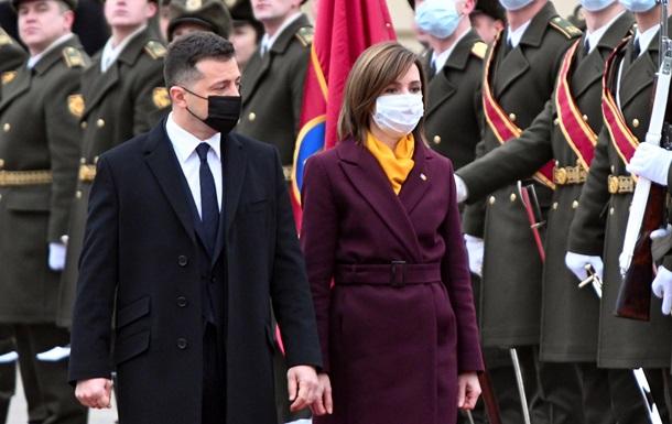Украина - щит. Значение визита Майи Санду в Киев