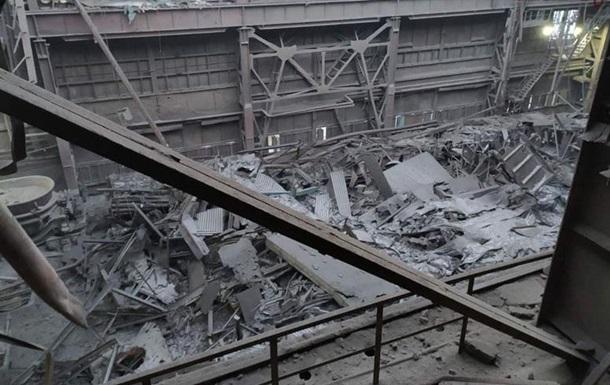В Запорожье обвалилась крыша цеха