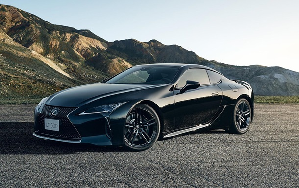 Lexus представил ограниченную партию спорткара