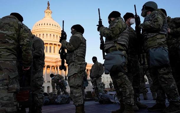 На інавгурації Байдена забезпечувати безпеку будуть 20 тисяч військових