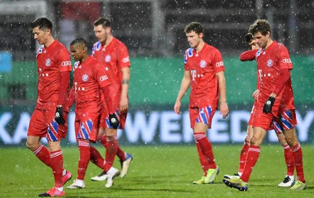 Бавария сенсационно вылетела из Кубка Германии