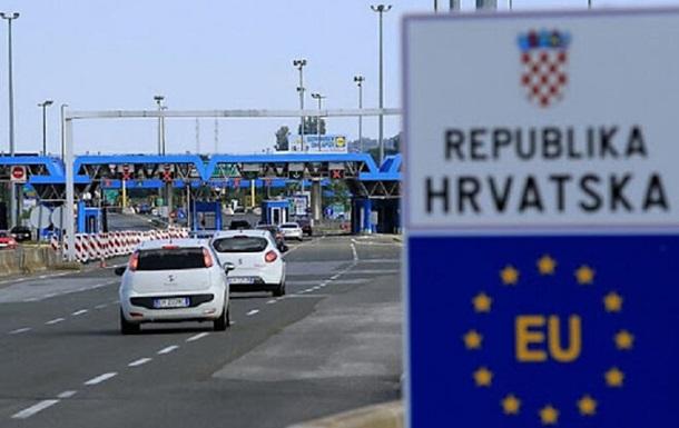 Хорватия до конца января ужесточает правила въезда для украинцев