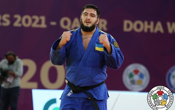Українець Хаммо завоював бронзу Мастерса із дзюдо