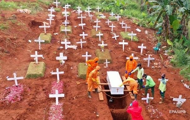 Кількість жертв пандемії в світі перевищила 2 млн