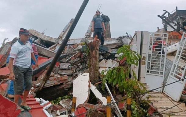 Землетрус в Індонезії: кількість різко збільшилася