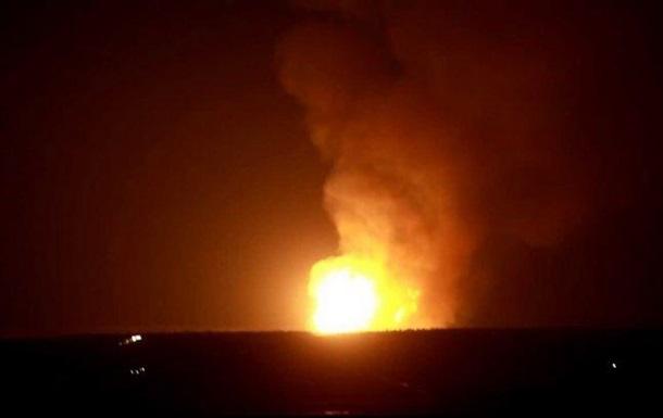 Под Луганском взорвался газопровод