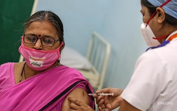 В Индии началась вакцинация от коронавируса