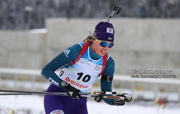 Кубок IBU: Кривонос стала 14-й в спринте, победу одержала россиянка Акимова