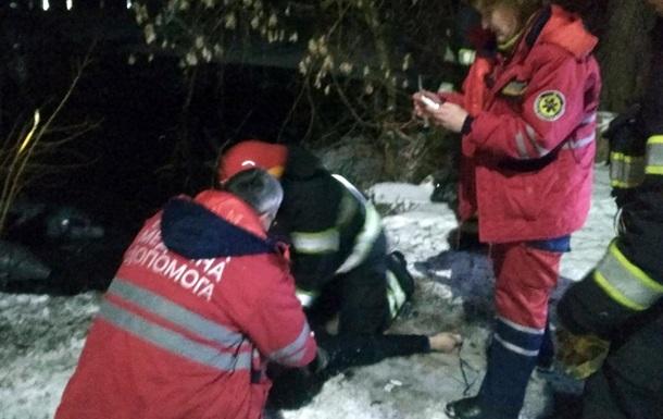 Под Хмельницким люди провалились под лед