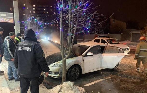 В Полтаве депутату горсовета сожгли авто