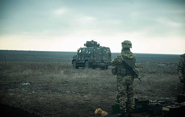 Сепаратисты обстреляли позиции ВСУ