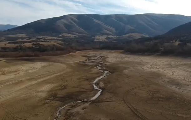 В Крыму усохло семь водохранилищ