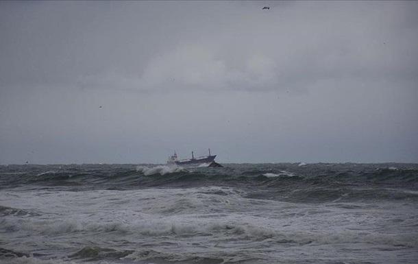 В Черном море затонул российский сухогруз