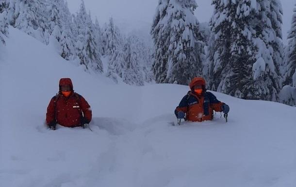 В Карпатах объявлена снеголавинная опасность