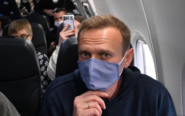 Алексей Навальный прилетел в Москву