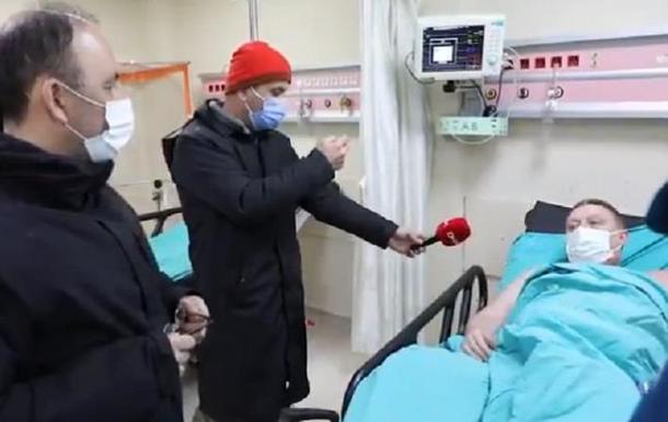 Врятовані українські моряки перебувають в лікарні