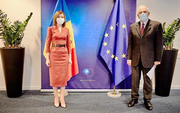 ЕС пообещал обеспечить Молдову COVID-вакциной