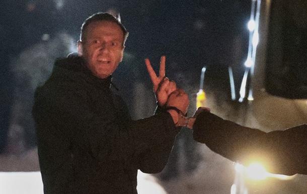 Алексея Навального привезли в СИЗО `Матросской тишины`