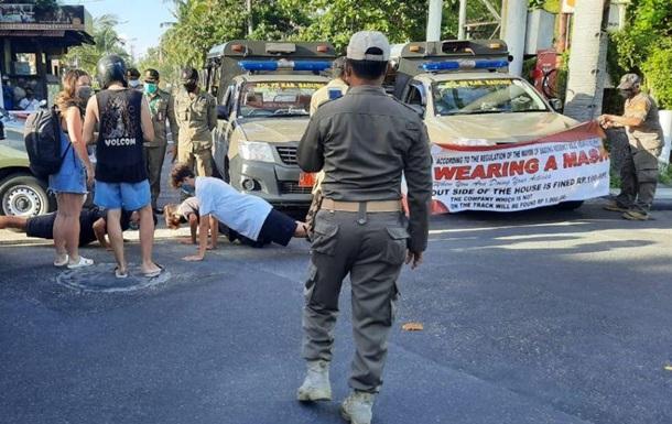 На Бали оригинально наказывают туристов