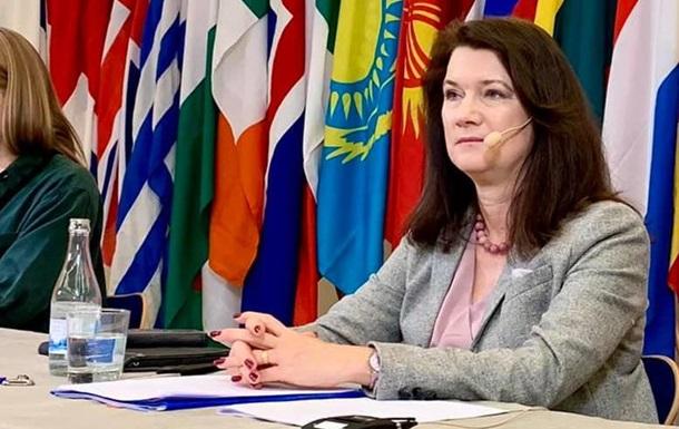 Глава ОБСЕ приветствовала объявленное перемирие на Донбассе