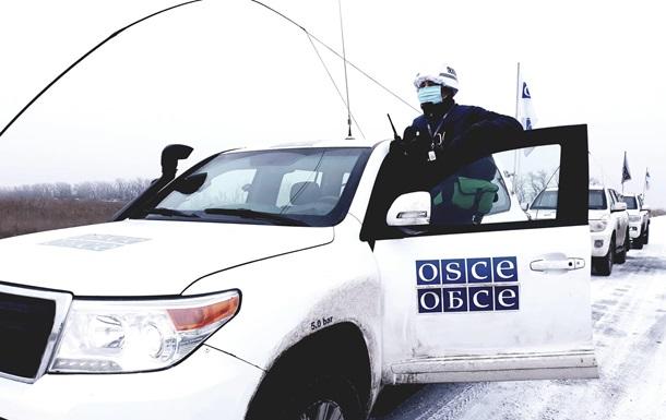 В Україні кількість спостерігачів ОБСЄ скоротили