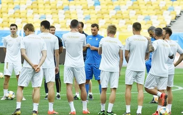 Визначилися суперники збірної України у спарингах перед Євро