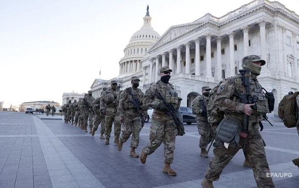 В США отстранили 12 нацгвардейцев от инаугурации Байдена