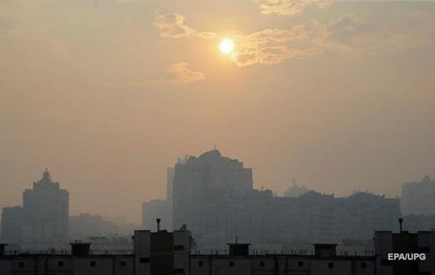 В Киеве опасный уровень загрязнения воздуха