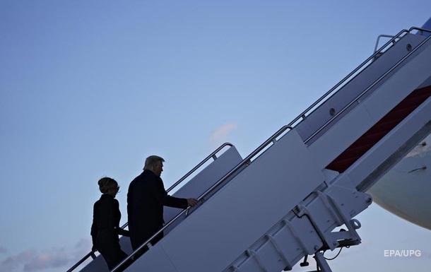 Трамп улетел, но обещал вернуться