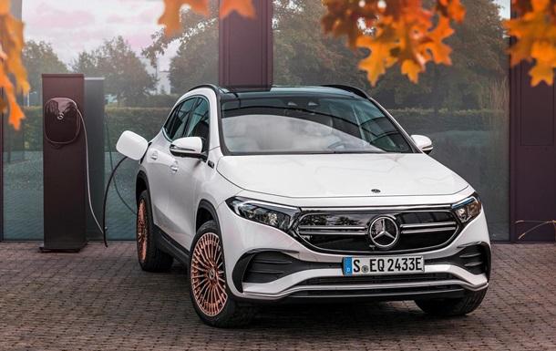 Mercedes-Benz представил серийный электрокар — Korrespondent.net