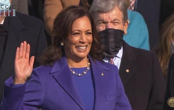 Камала Харрис принесла присягу вице-президента США