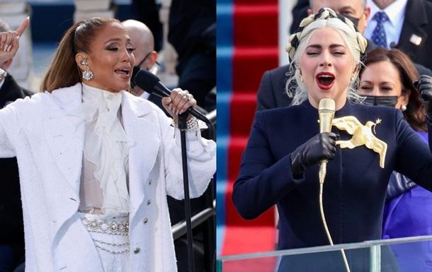 Джей Ло и Леди Гага выступили на инаугурации