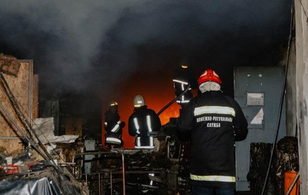 В Тернопольской области загорелся военный склад