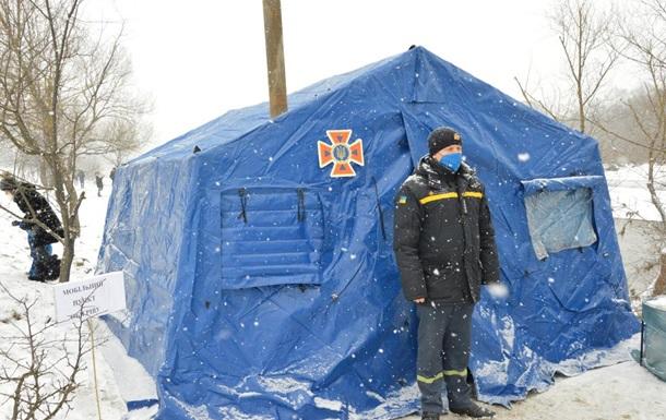 В Украине продолжают работу более пяти тысяч пунктов обогрева