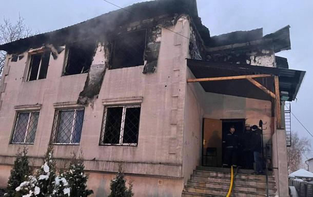 Названа возможная причина пожара в Харькове