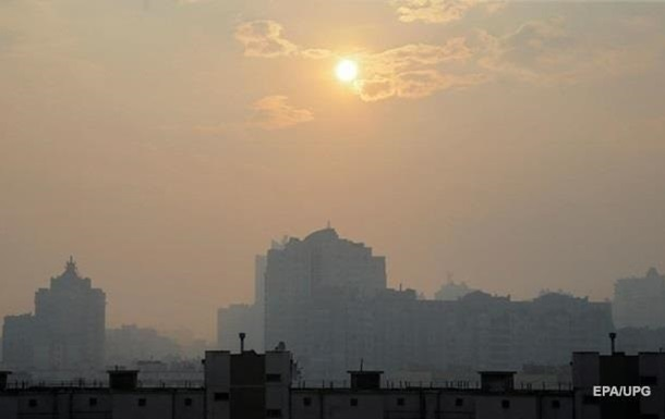 Киев два дня в мировом топе городов с загрязненным воздухом