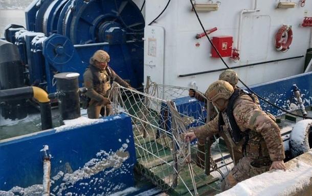 Украинских моряков незаконно отправляли на работу в Крым - СБУ