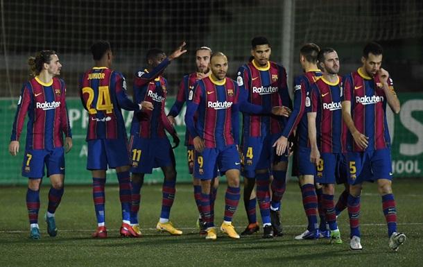 Барселона сыграет с Райо Вальекано и другие результаты жеребьевки 1/8 Кубка Испании