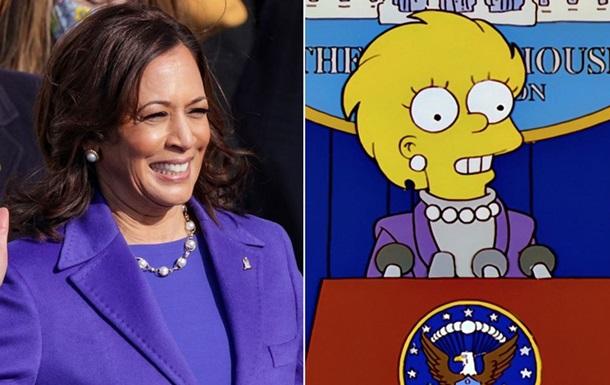 Образ вице-президента США нашли в Симпсонах