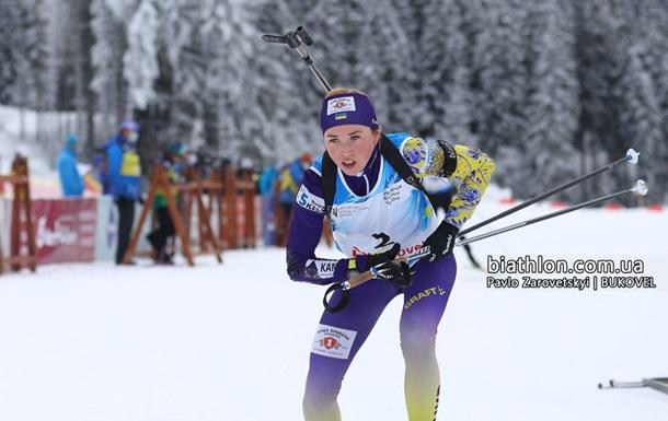 Кубок IBU: Две украинки попали в ТОП-10 спринта в Арбере