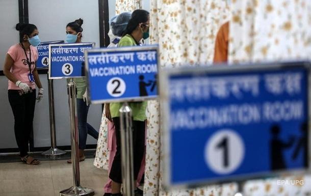 Индия проводит вакцинацию рекордными темпами