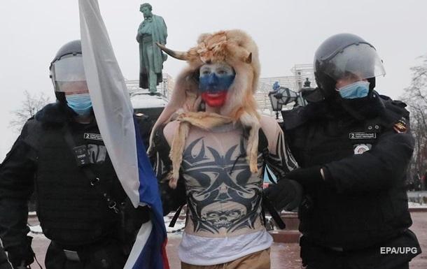 У Росії затримано більше двох тисяч пікетників