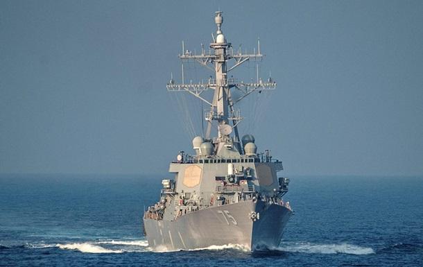 Эсминец США зашел в Черное море