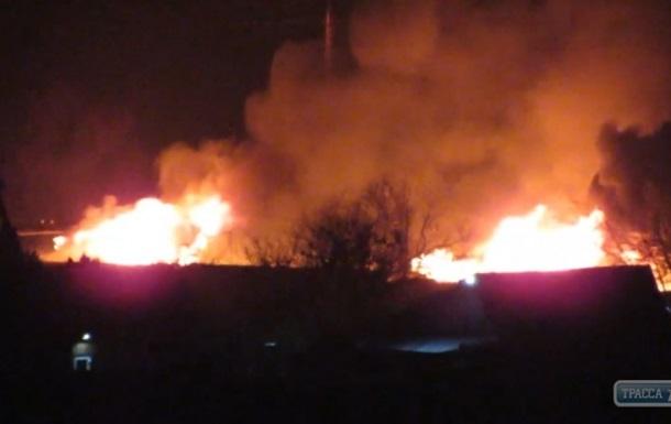 Под Одессой горела база отдыха