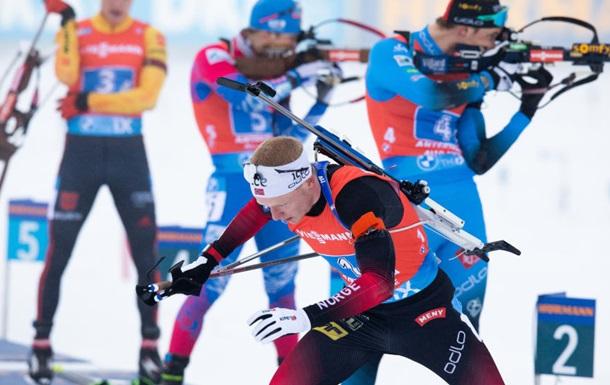 Йоханнес Бе уверенно выиграл в масс-старте в Антхольце