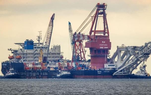 У водах Данії відновлюють будівництво ПП-2