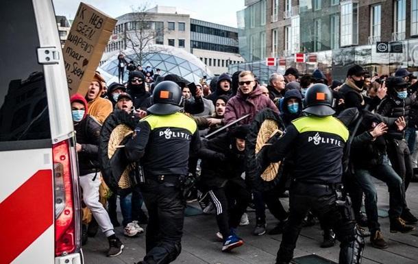 Прем єр Нідерландів засудив безлади під час антикоронавірусних протестів