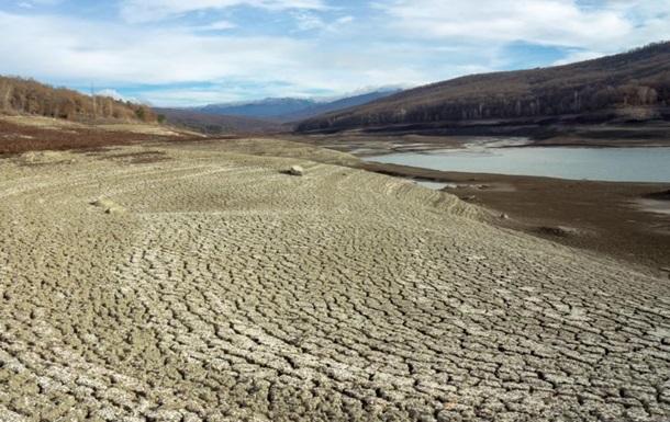 Опубликованы спутниковые фото водоемов Крыма
