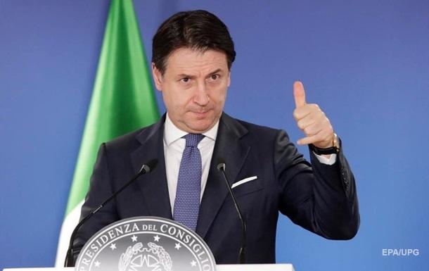Прем єр-міністр Італії оголосив про відхід у відставку
