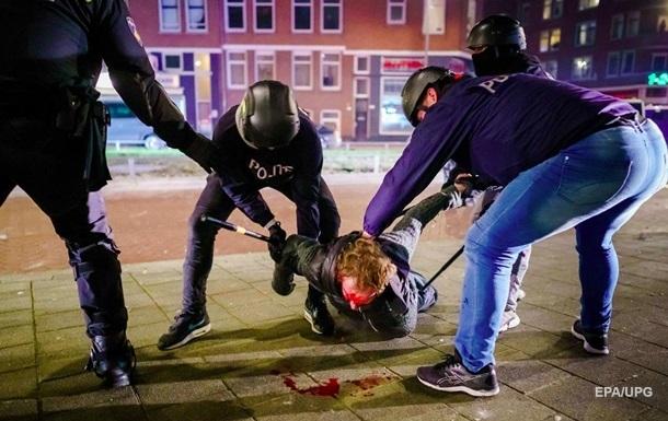 Коронабунт. Нидерланды охватили жесткие беспорядки